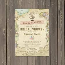 travel bridal shower invitations decor ideas mid south