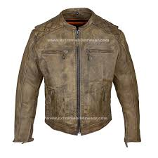motorcycle suit mens mens distressed brown leather motorcycle jacket with diamond