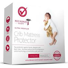 Hypoallergenic Crib Mattress Nomad Crib Pad Mattress Protector Ultra Soft