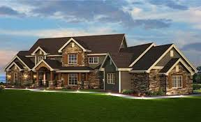 traditional craftsman homes plan 9527rw spacious craftsman home plan traditional house