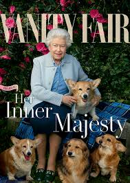 Vanity Fair Canada Queen Elizabeth Ii Takes Her Love For Corgis On The Cover Of