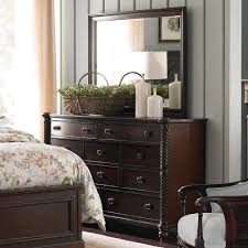 Moultrie Park Bow Front Dresser By Bassett Furniture Inspired By - Charleston bedroom furniture