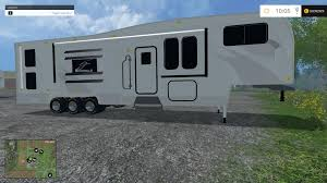 toyhauler camper v1 0 mod farming simulator 2017 2015 15