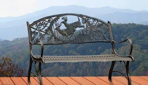 Cast Iron Loveseat Painted Sky Designs Home Benches