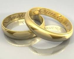 wedding rings with names wedding ring with names at exclusive wedding decoration and