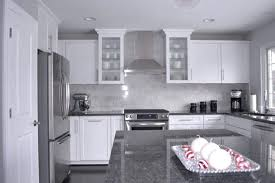 gray countertops with white cabinets grey granite countertops with white cabinets grey granite with white