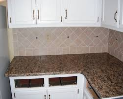 granite counter top backsplash paint cabinets kitchen design with