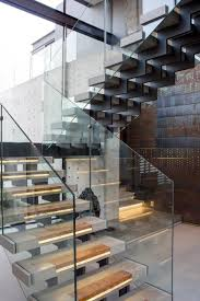 Iron Stairs Design 15 Geometric Staircase Designs
