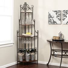 Pier One Bakers Rack Wrought Iron Wine Rack Table Best Ideas Of Wine