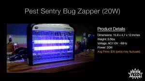 best bug light bulbs zap pest sentry indoor bug zapper review best electronic insect