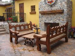 Mexican Patio Furniture by 45 Best Mexican Spanish Patio Ideas Images On Pinterest