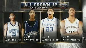 Anthony Davis Memes - anthony davis incredible growth projected sbnation com