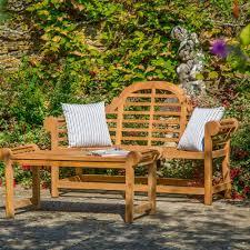 Teak Garden Benches Bramblecrest Lutyens 150cm 3 Seat Teak Garden Bench Internet