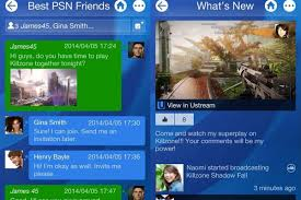 ps4 game invite official playstation app now available on android and ios devices