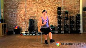 Armchair Aerobics Exercises Seated Cardio Workout Burn Calories Exercising From A Chair Youtube