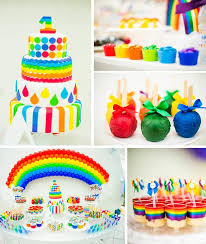 Rainbow Themed Birthday Favors by Rainbow Birthday With Lots Of Ideas M Ms Cupcakes