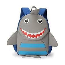 kindergarten backpack pattern amazon com toddler backpack with cute shark cartoon pattern water