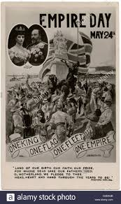 one king one fleet one flag one empire celebration postcard to