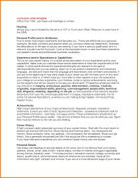 Example Of Resume Profile by Examples Of Resume Profiles Resume For Your Job Application