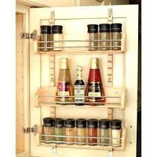 spice rack cabinet insert door mounted spice rack cabinet insert in appliances uk creekmore
