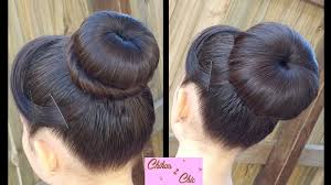 donut bun classic donut bun 2 options and easy hairstyles