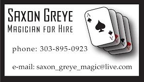 Magician Business Cards Magician Business Card Ken Kokoszka U2013 Design