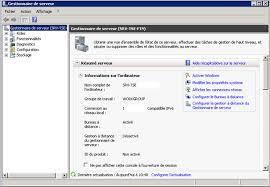 activer bureau à distance installation et configuration terminal serveur sur windows 2008 r2