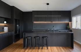 black kitchen cabinets nz side kitchen beautiful neo design