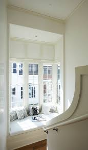 minimalist window seat a simple element with grand value view in gallery