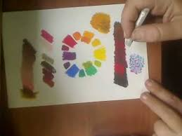 color mixing in oil pastels part 2 wmv youtube
