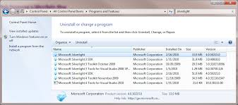 Microsoft Silver Light How To Disable And Uninstall Microsoft Silverlight Chromecast Help
