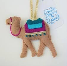 camel christmas decoration 5 50 christmas felt pinterest