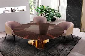 Modern Center Table For Living Room Marina Dining Table By Malabar Artistic Furniture