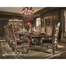 michael amini dining room michael amini 8pc villa valencia rectangular dining room table set