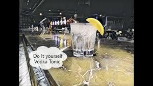 vodka tonic ว ธ ทำค อกเทล vodka tonic ง ายๆ youtube