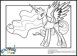 pony coloring pictures sad princess celestia my little pony coloring pages pinterest