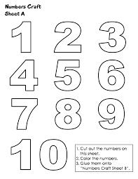 printables numbers 1 10 google keresés things to wear