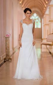 wedding dresses sweetheart neckline straps naf dresses