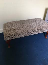 Ottoman For Sale Animal Print Footstool Ottoman For Sale 75 Ono In Silverknowes