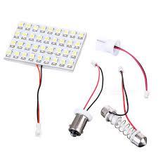 car dome light bulbs t10 ba9s festoon 2 28w 12v 36 led car ceiling dome light bulb