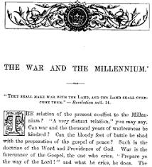 religion in the civil war the northern perspective the nineteenth
