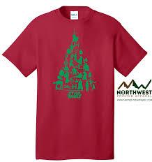star wars christmas tree t shirt northwest printed apparel