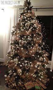 Christmas Tree by Rustic Christmas Tree Ideas Christmas Lights Decoration