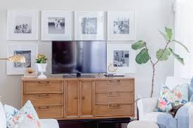 tips for decorating around a tv the home i create