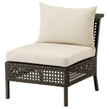 Outdoor  Garden Sofas Wooden  Rattan Furniture IKEA - Rattan outdoor sofas