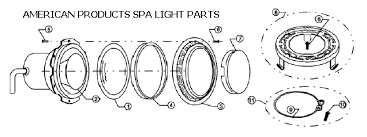 amerlite pool light parts in ground pentair pool lighting replacement parts