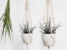Modern Hanging Planter by Hanging Planter Macrame Plant Hanger Macrame Plant Holder