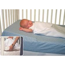 Crib Mattress Wedge Crib Wedge Gently Elevates Baby S For Easier Breathing And