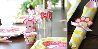 puppy party supplies girl puppy dog birthday party theme bigdotofhappiness