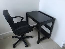 Small Computer Desk Chair Cool Computer Table For Sale Computer Table Lazada With Black